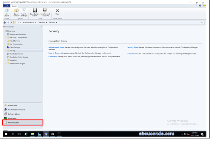 Assign User to Remote Tools Operator in SCCM 2016  | Abou